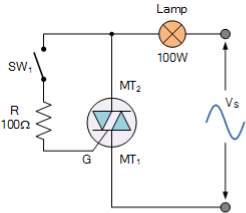 triac switching circuit