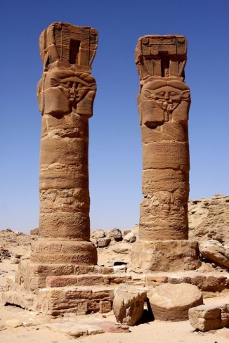 Image result for The temples to Hathor and Mut