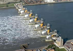 Image result for thames barrier
