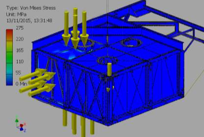 C:VaultWorkSpaceDesignsWave Sub1-4 ScaleFEA REPORTSImages2-000001_FEA_MODEL.iam Stress Analysis Report_External Pressure_13_11_2015 Pressures3Result_0_1.png