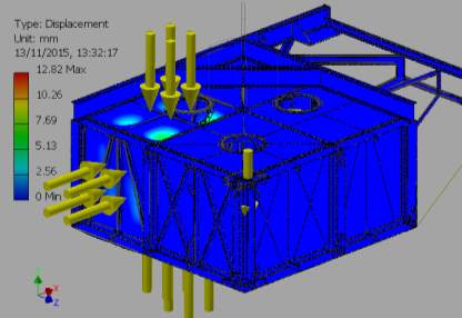 C:VaultWorkSpaceDesignsWave Sub1-4 ScaleFEA REPORTSImages2-000001_FEA_MODEL.iam Stress Analysis Report_External Pressure_13_11_2015 Pressures3Result_0_2.png