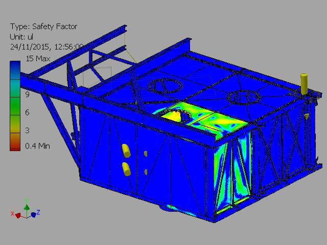 C:VaultWorkSpaceDesignsWave Sub1-4 ScaleFEA REPORTSImages2-000001_FEA_MODEL.iam Stress Analysis Report_Internal Pressure On Outer Chamber_23_11_20155Result_0_57.png