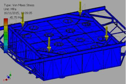 C:VaultWorkSpaceDesignsWave Sub1-4 ScaleFEA REPORTSImages2-000001_WELD.iam Stress Analysis Report_Lifting Points_13_11_201515Result_0_1.png