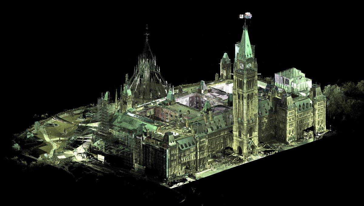 Image result for laser scanning in legislative building edmonton