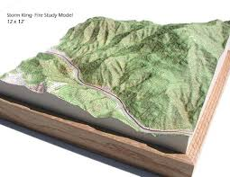 mage result for topographic modelling