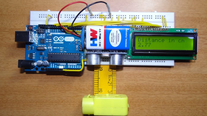 نتيجة بحث الصور عن ultrasonic distance measurement project