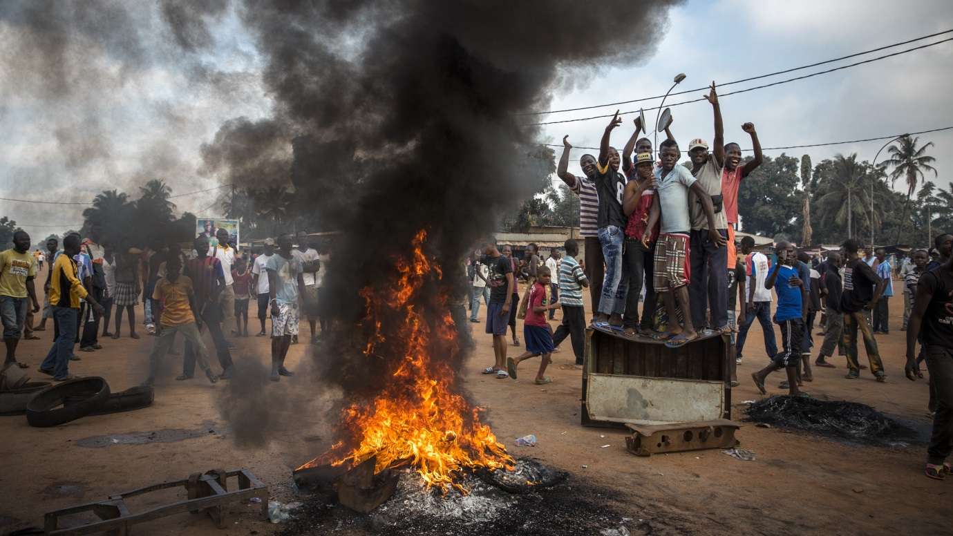Thousands of UN soldiers have been committed to keep the peace in the Central African Republic. bringing the conflict to a much more global scale. Photo by World Press Photo.
