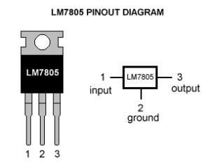 Image result for voltage regulator ic 7805