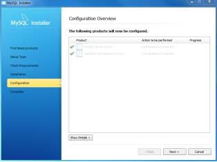 Install MySQL Step 8.1 - MySQL Server Configuration - Done
