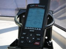 Civilian GPS receiver in a marine application.