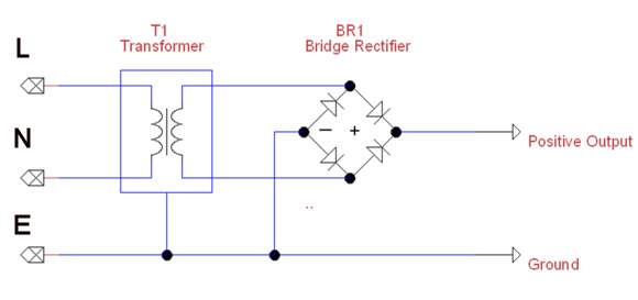 transformer and rectifier