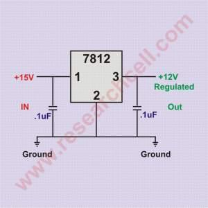 7812 circuit diagram