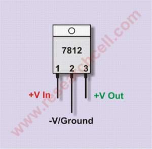 7812 pin diagram