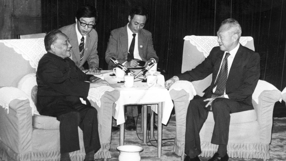 Image result for Lee Kuan Yew Deng Xiaoping