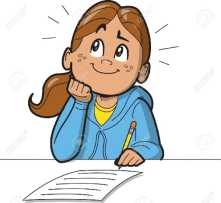 Image result for children completing questionnaire clipart