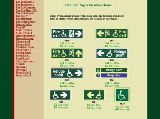 website wheelchair no signs