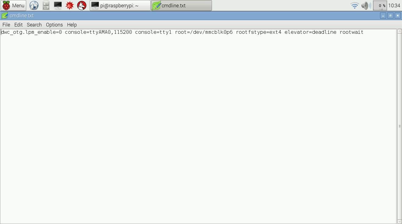 Image result for cmdline.txt raspberry pi