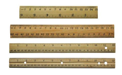 Image result for wood ruler