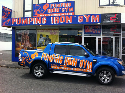 Image result for pumping iron gym nz