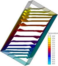 Iso surface temperature -30 Trans