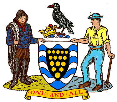 Image result for cornwall coat of arms