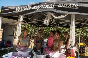 Description: Wash against waste - Splore 2014