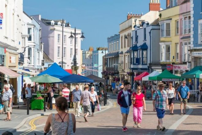 Image result for tenby high street