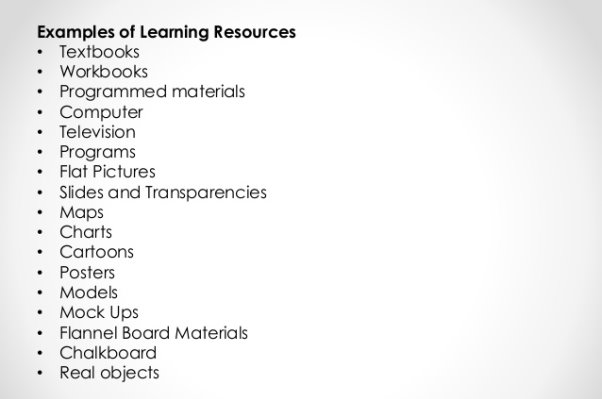 Image result for types of educational resources pdf