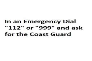 Image result for irish coast guard emergency contact  number