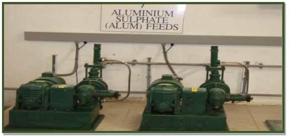 Alum feed