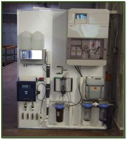 Fluoride monitoring station